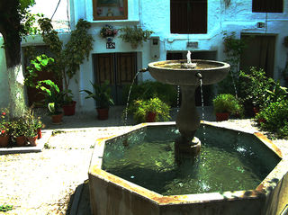 *Barrio Hondillo-fountain outside 168