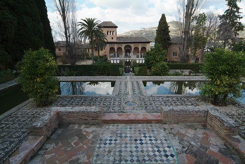 Alhambra, El Palacio del Portico