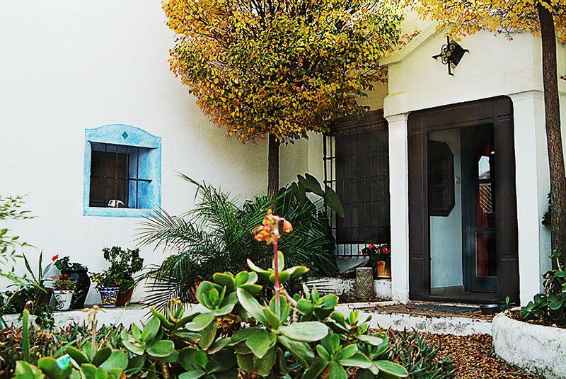 Los P courtyard