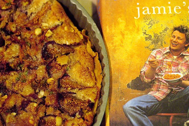 Fig Tart (Gracias a Jamie)